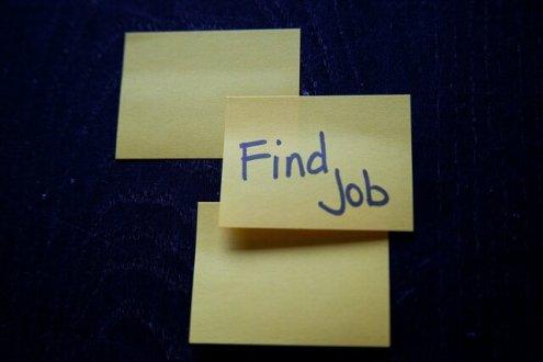 Find a Job - Sticky Note