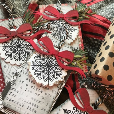 Lickity Split Christmas Tags