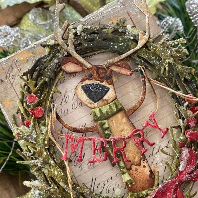 Tim Holtz Sizzix Chapter 3 Christmas