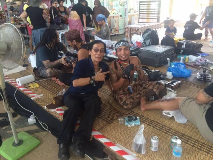 Bamboo Tattoo Bali Expo