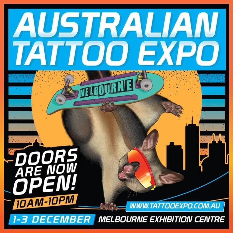 AUSTRALIAN TATTOO EXPO MELBOURNE 2017