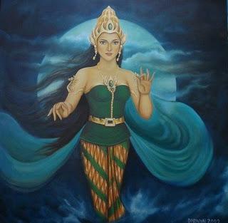 painting of nyi roro kidul