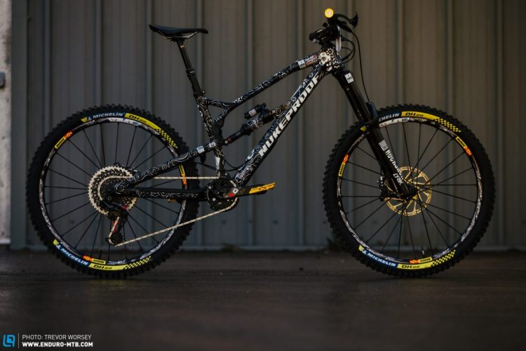 Sam Hill Nukeproof Bike