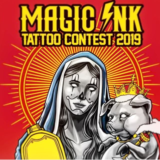 Magic Ink Tattoo Contest