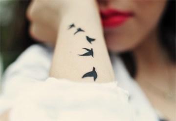5 little birds