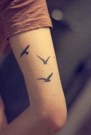 Three Birds Arm Tat