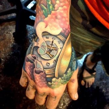 Amazing Detailed Hand Tat