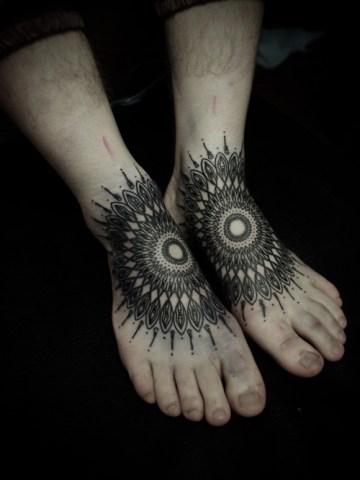 Black Mandalas