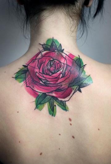 Neck Rose Ink