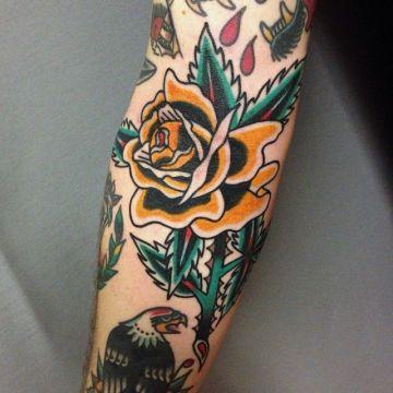Tattoo By Jonas Nyberg - Sweden