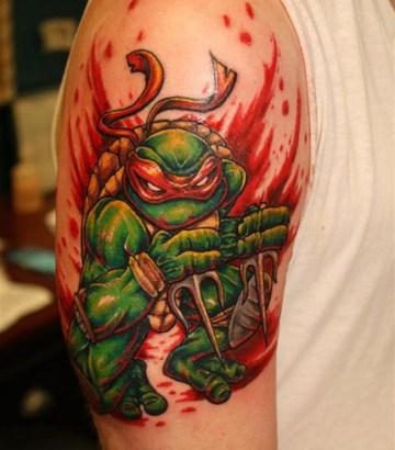 Teenage Mutant Ninja Turtles Tattoo