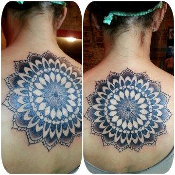 Large Mandala Back Tattoo