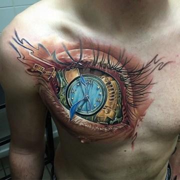 3D Eye & Clock