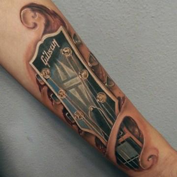 Gibson Guitar tatto