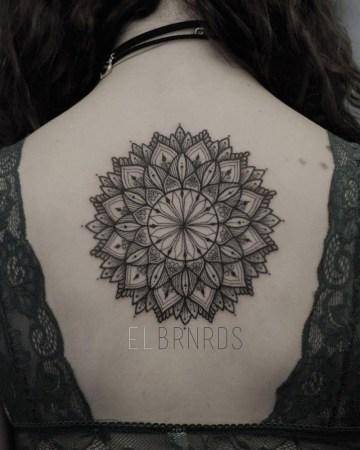 Large Back Mandala