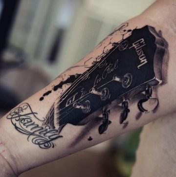 Les Paul Gibson Guitar Head