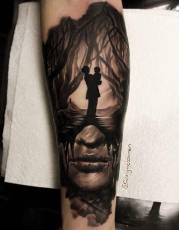 Grandmother Remembrance Tattoo