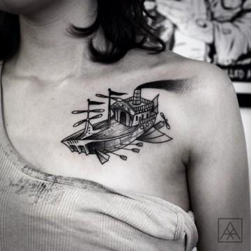 Flying Ship Tatt