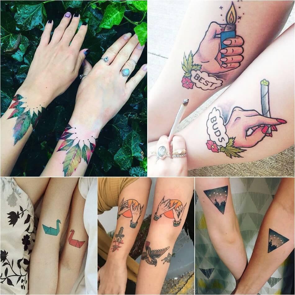 тату для друзей идеи татуировок для лучших друзей Tattoo Ideasru