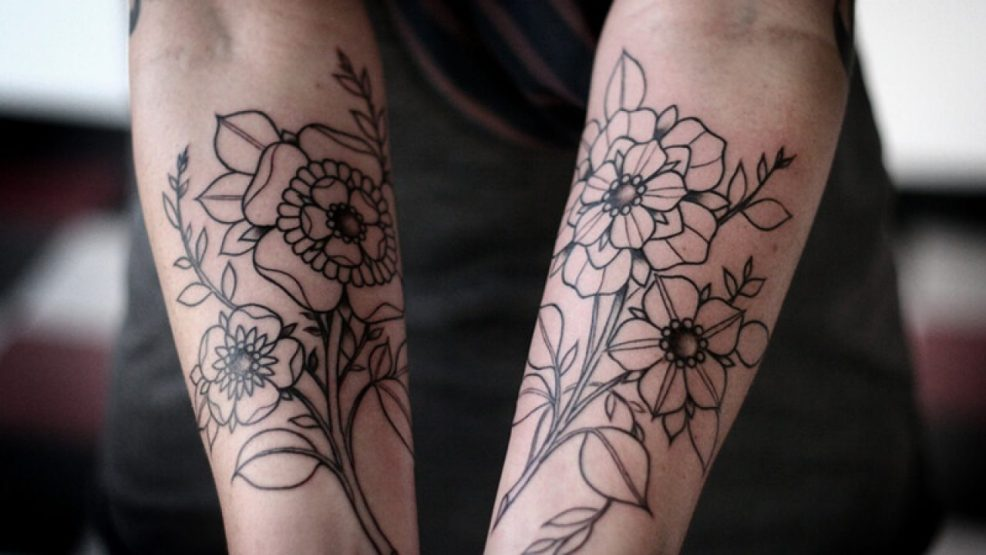 тату цветы для девушек многообразие и яркость тату с цветами