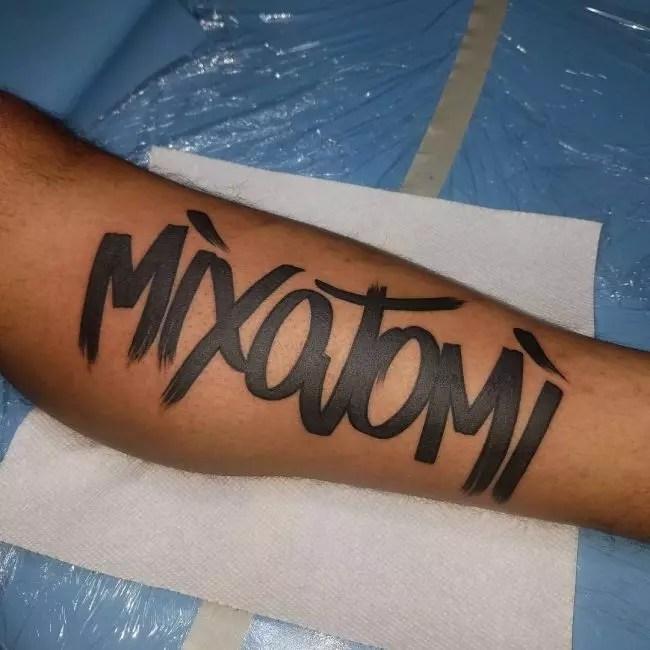 Graffiti Tattoo 93