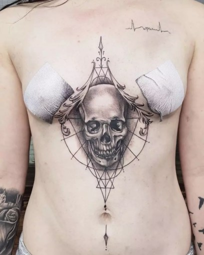 75  Incredible Sternum Tattoo Ideas     Pick Yours Sternum Tattoo 71  Sternum Tattoo 70
