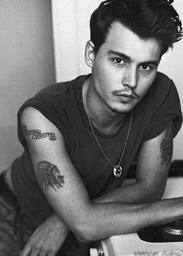 фото Тату Джонни Деппа от 15.04.2018 №047 - Tattoo Johnny ...
