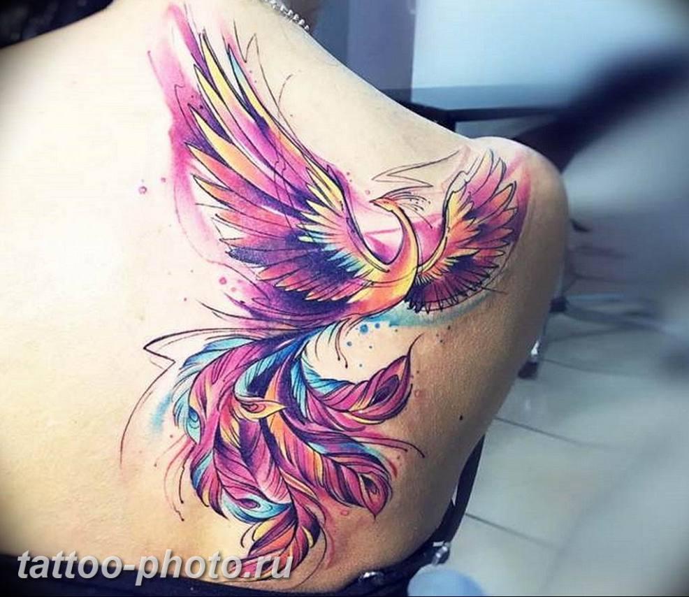фото идеи тату феникс 18122018 464 Photo Ideas Tattoo Phoenix