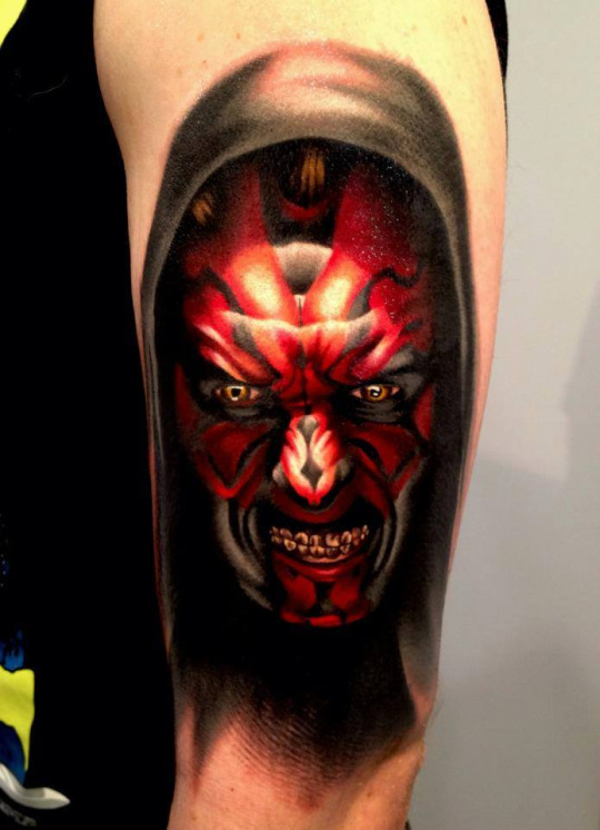 Tattoos Girls Star Wars