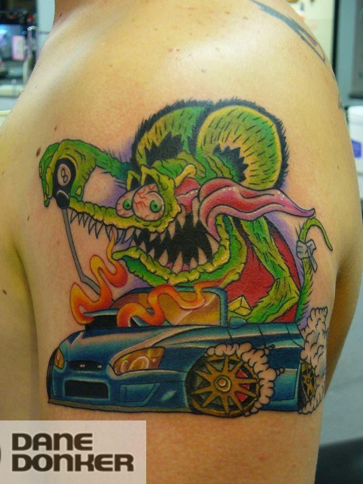 Traditional Tattoo Dagger Art American