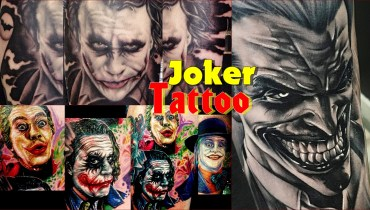 Joker_tattoo_0  Joker Tattoo Design Ideas – Power, Nobility and Magic Joker Tattoo 0