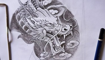 How to draw a dragon tattoo for chest? | tattoo artist  How to draw a dragon tattoo for Chest? | Tattoo Artist how to draw a dragon tattoo for