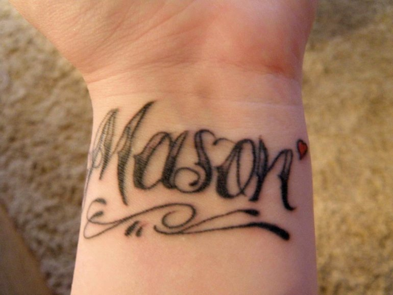 Name_tattoos_67948461  50+ Incredible Name Tattoo Design, Size, Place Ideas for You! name tattoos 67948461