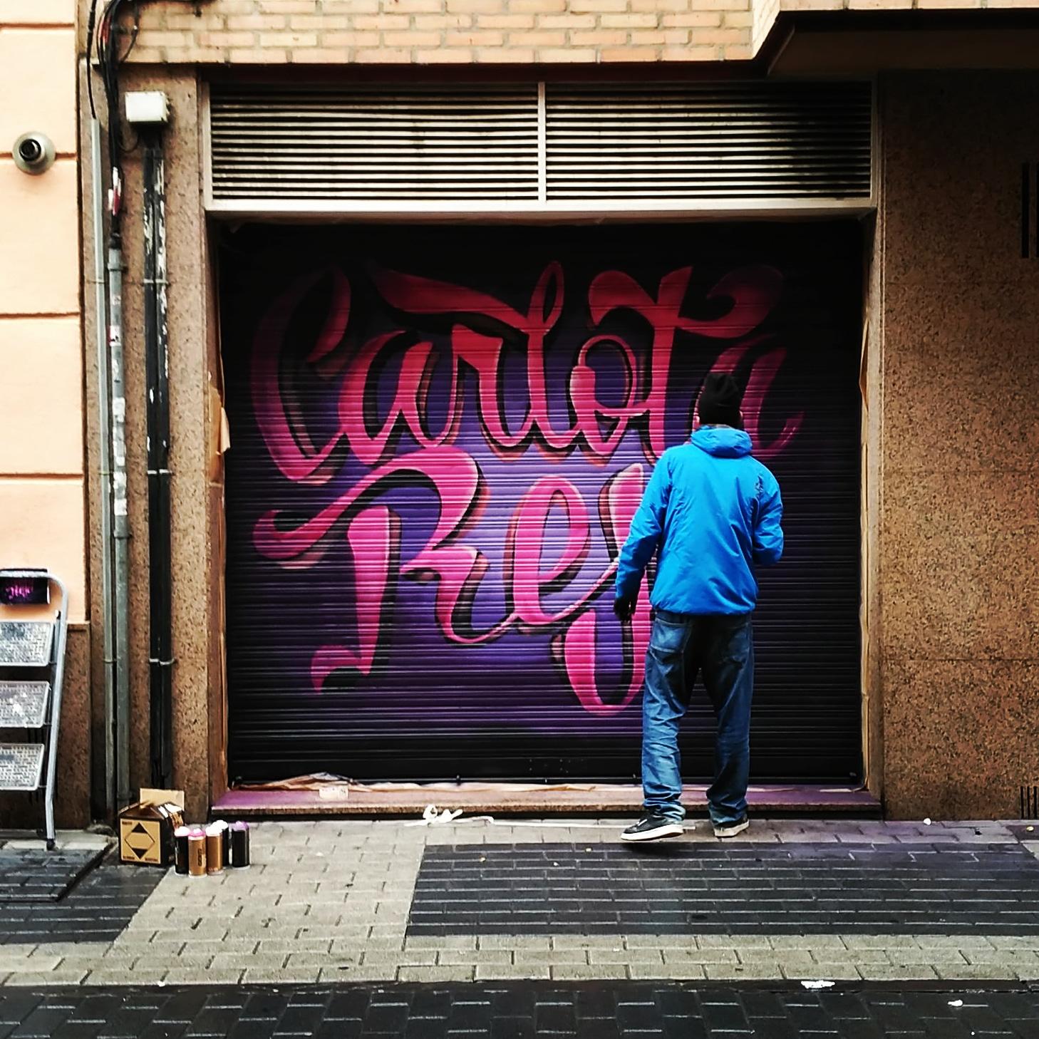 graffiti palencia mural