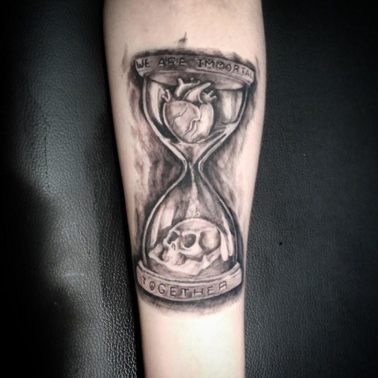 new school dark tattoo tatuaje palencia