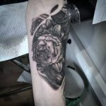 Tatuajes flores tattoo palencia peonía