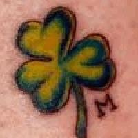 Значение тату четырёхлистный клевер