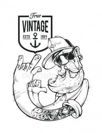 Череп с бородой тату – картинка и фото череп с бородой ...