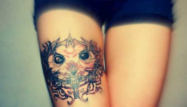 Татуировка у девушки на ступне – ТОП 100 идей со значением ...