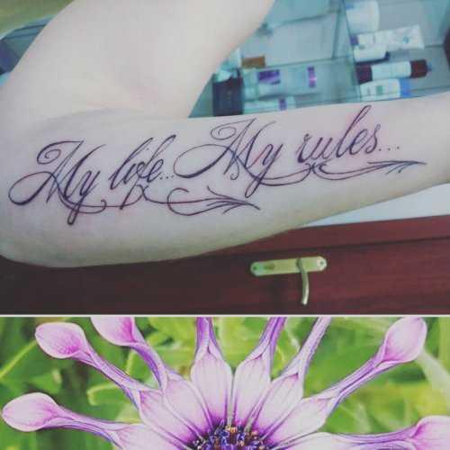 Татуировки на плече надписи для девушек – Тату надписи для ...