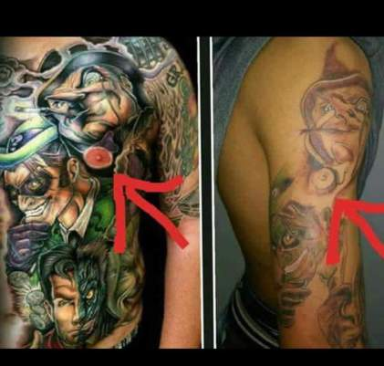copied tattoo
