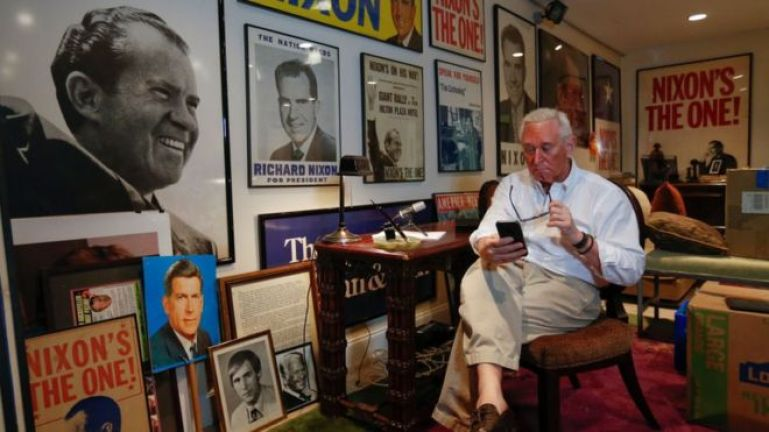 roger stone man cave