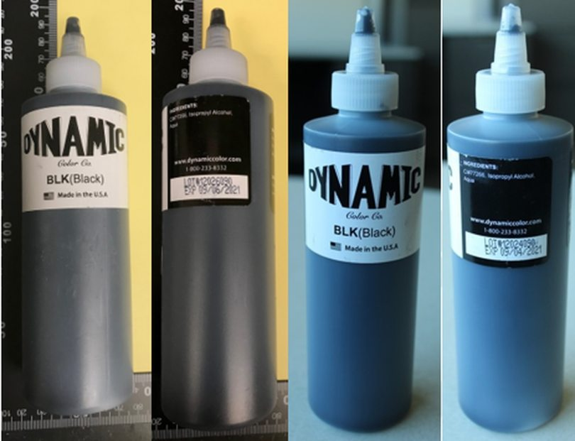 contaminated ink dynamic