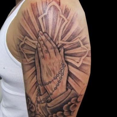 プレイハンド ロザリオ クロス pray hand