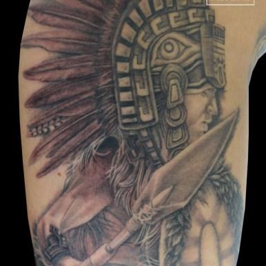 aztec アステカ 戦士