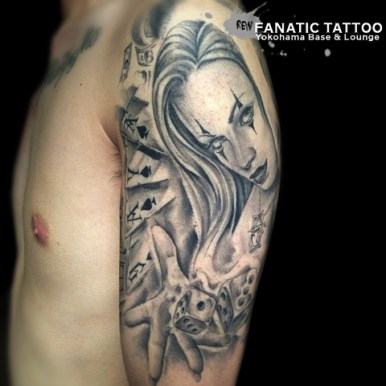 REW FANATIC TATTOO YOKOHAMA