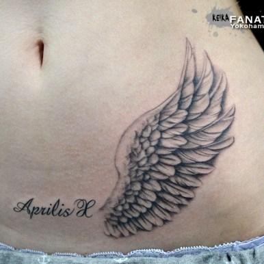 羽根 翼 wing