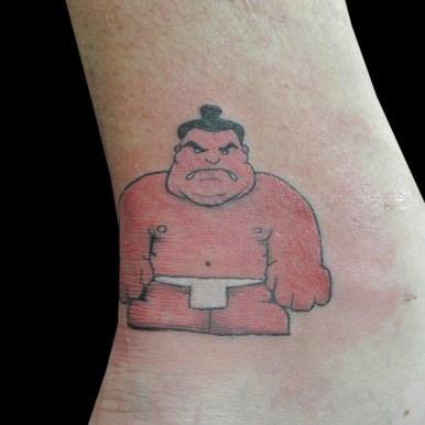 スモウレスラー sumo wrestler