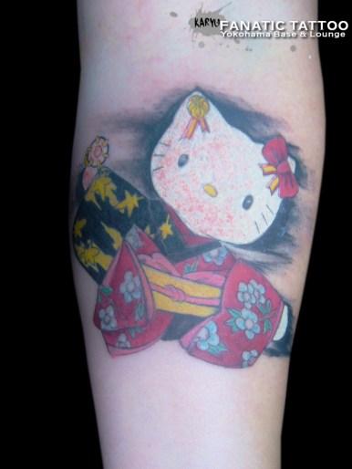 hello kitty kimono sanrio 着物 キティ