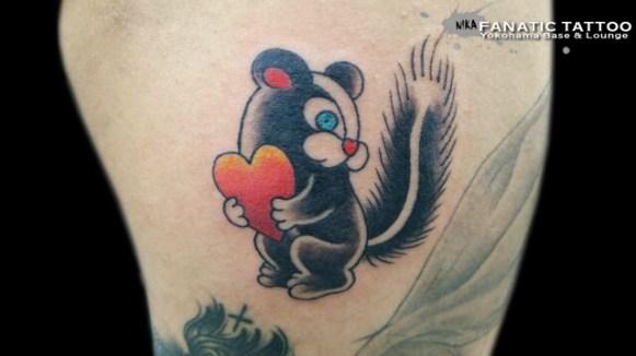 スカンク skunk
